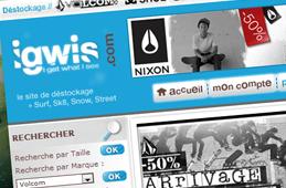 R�f�rence CyberShop Igwis