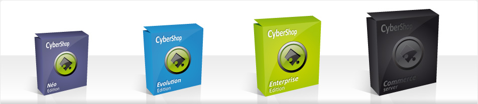 Création de sites internet avec la solution Cybershop